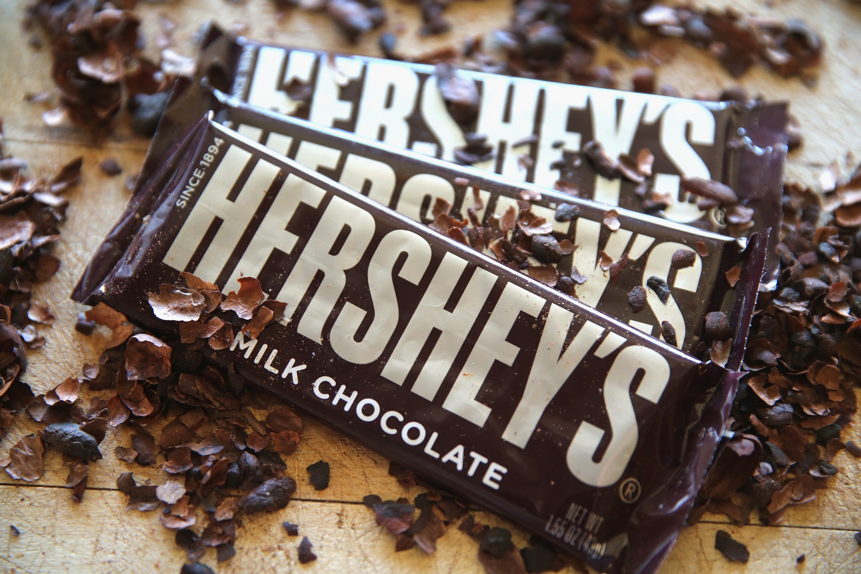 Hershey is uniting with an advertising blockchain consortium