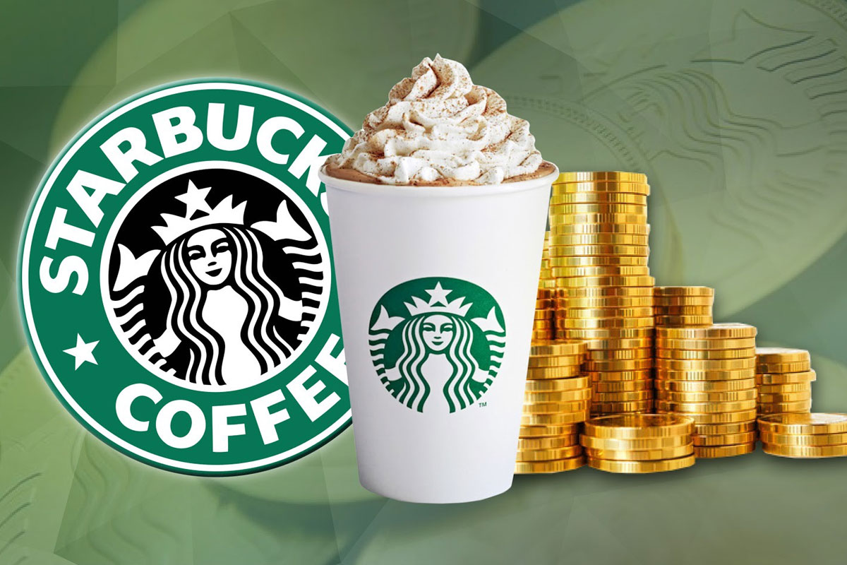 STARBUCKS CUSTOMERS WILL BE ABLE TO PAY FOR COFFEE WITH BITCOIN