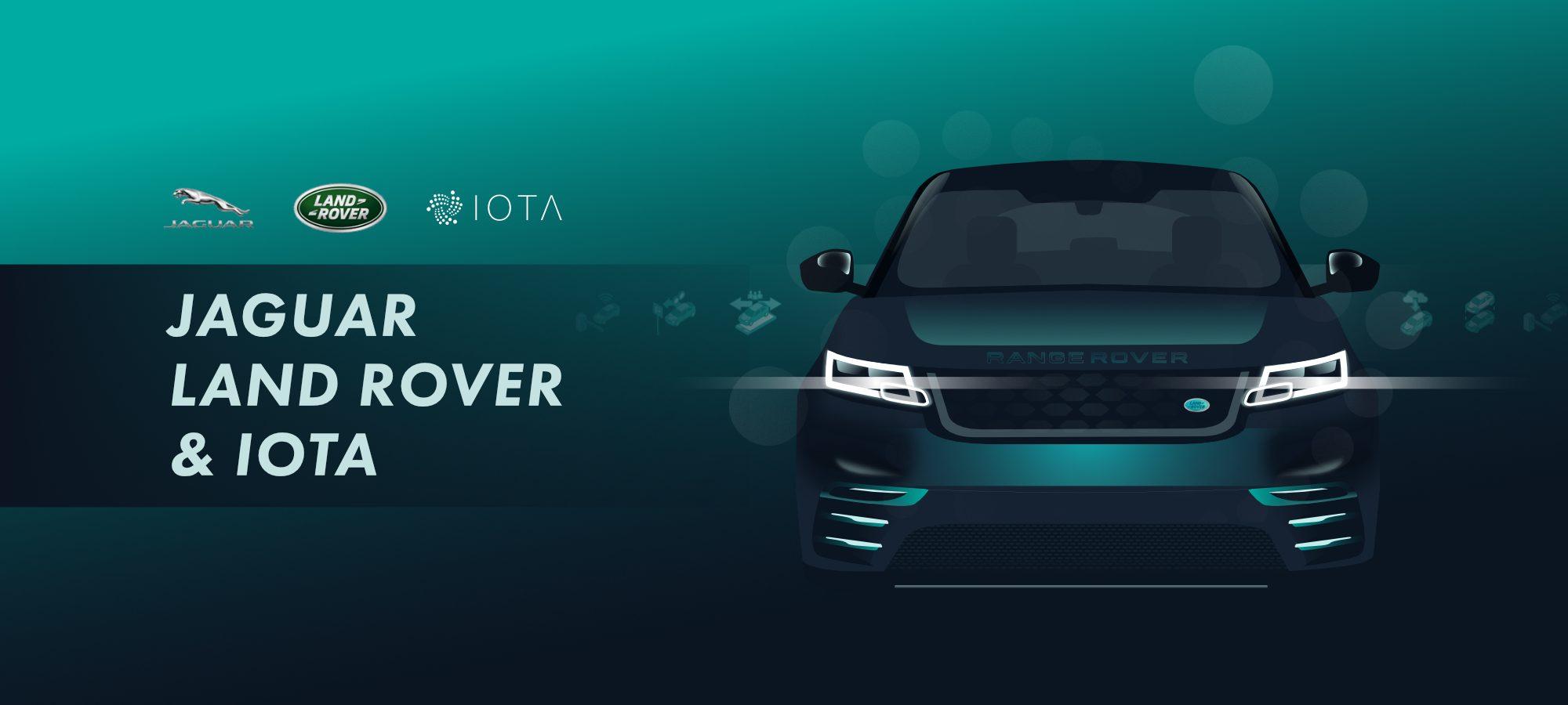 IOTA CAN BE INTEGRATED INTO JAGUAR LAND ROVER CAR
