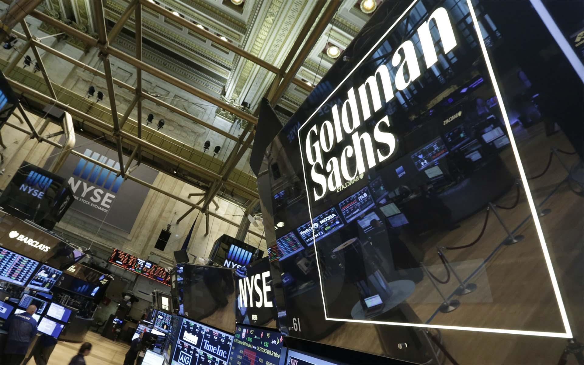 goldman sach cryptocurrency trading desk