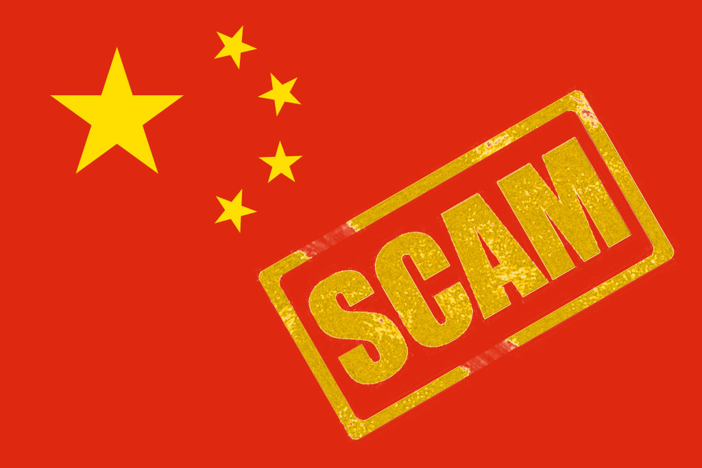 CHINA INVESTIGATION ON CRYPTO SCAM