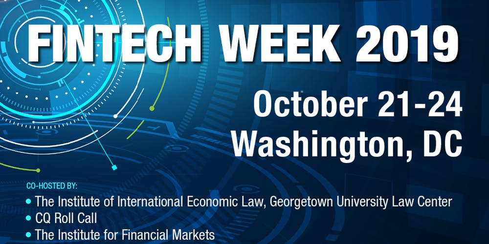 Fintech Week 2019: Ripple CEO and Ethereum Co-Founder Views