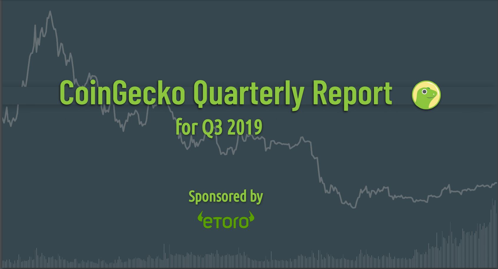 CoinGecko Releases 2019 Quarter 3 Cryptocurrency Report