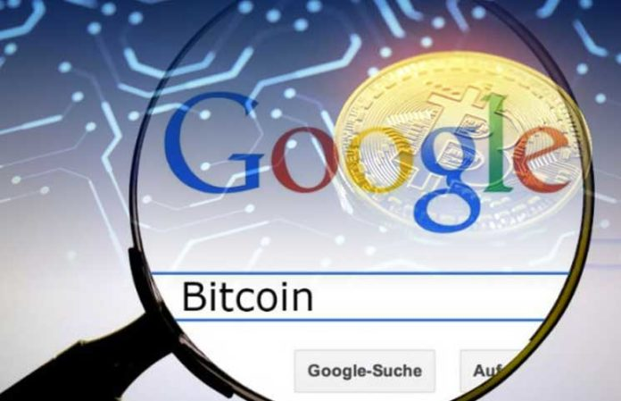GOOGLE SEARCHES ON BTC INCREASE BY 37%