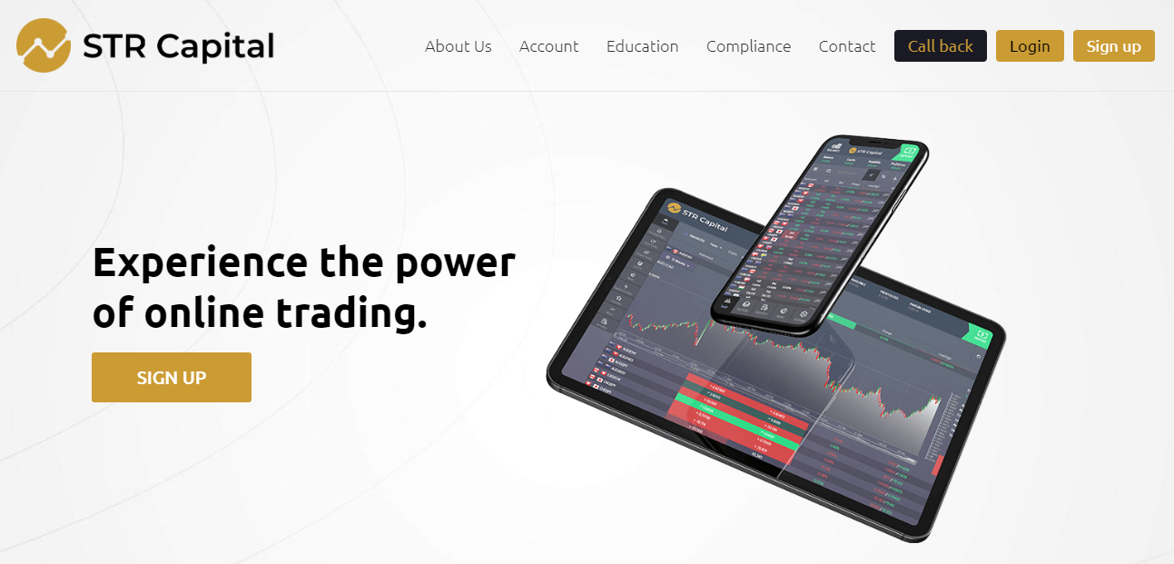 STR Capital Review – Start Trading with a Sense of Safety