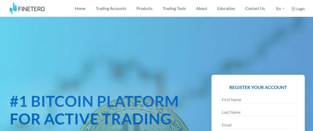 Finetero website