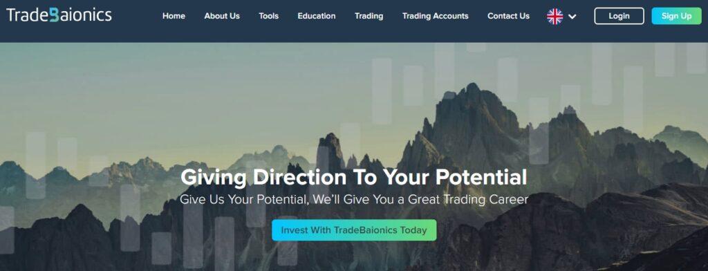 TradeBiaonics website
